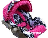 Britax B-Safe London Hot Pink Infant Car Seat Cover-Ready To Ship
