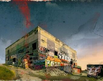Original/Limited Artwork - La Base
