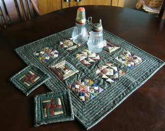 Country Sampler Wall Hanging or Table Mat