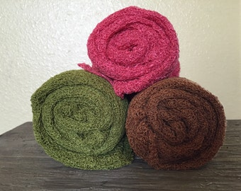 Set of 3 STRETCH WRAPS -- newborn Photo props-- soft n cuddly