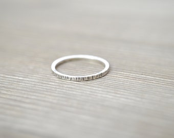 Simple Stacking Ring - Sterling Silver, Gold Filled, and Rose Gold Filled