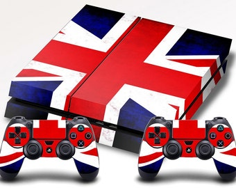 Playstation 4 Skin British Great Britain Flag - Quote Me Printing PS4 #10
