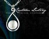 Custom Pendant for Raquelita