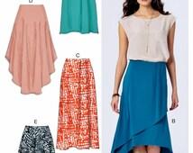 popular items for wrap skirt pattern on etsy