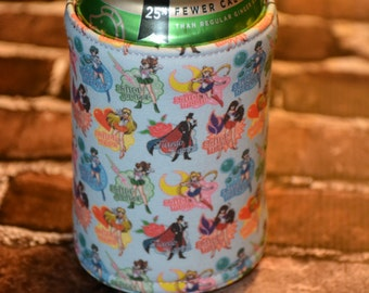 Sailor Moon Inspired Can/Bottle Cozy/Home Decor/ Housewarming Gift/ Kitchen Decor/ Hostess Gift/ Wedding Gift/ Gift for her/ Fun gift