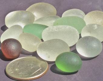Beach Glass or Sea Glass of Hawaii Amazing EGGS! OVALS! SALE! 44 dollars Flawless 4 jewelry! Bulk Sea Glass! Mosaic Tiles! Round Sea Glass!