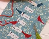 MERLEBLEU, Hanging Circular Knitting Needle Holder, 8 in x 26 in.