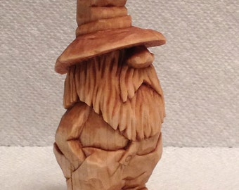 Custom Carved Clem The Mountain Moonshiner Wood Carving Art Sculpture Mountain Man Hillbilly Figure