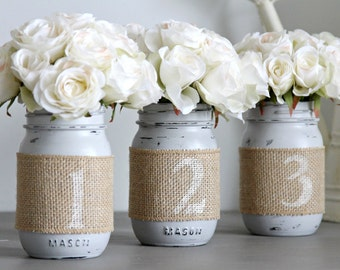Wedding Table Numbers, Rustic Wedding Decor, Wedding Party Centerpieces, Rustic Table Decoration,Engagement Party Table Numbers, Party Decor