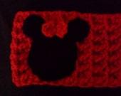 Minnie Mouse Inspired Winter Headband