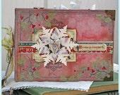 Christmas Joy Album (project kit and printable instructions)