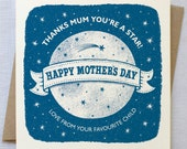 Mothers Day Moon Card