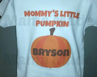 Boy's Mommy's Little Pumpkin Shirt Little Pumpkin Shirt Pumpkin Patch Shirt Little Pumpkin Shirt Boys halloween Pumpkin Shirt boys halloween