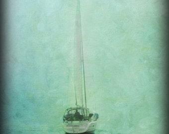 Sailboat photo, Sailboat, Sailboat art, Sailboat photography, Nautical decor