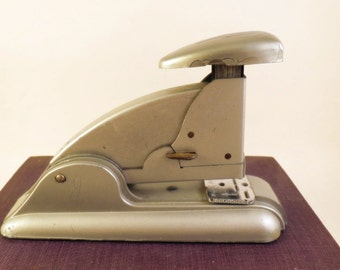 Retro Desk Stapler Old Fashioned Accessory Metal Vintage