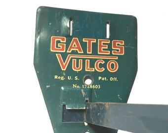Vintage Gates Vulco Advertising Rack