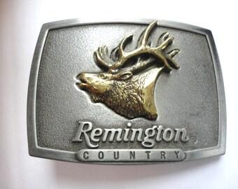Vintage Remington Belt Buckle