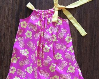Cute Hawaiian Print Sun Dress.  (All sizes available)