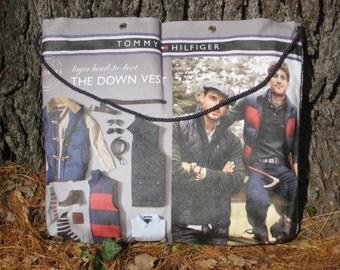Reclaimed canvas bag - Down Vest