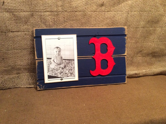 Boston Red Sox Picture Frame Holds 4x6 Photo Decor By