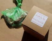 Because I give a Sh*t- boxed gag gift- plantable fake dog poop- wildflower seeds