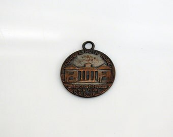 Annie E. Poth Home Irvington on the Hudson New York Companions of the Forest of America Token 1930s