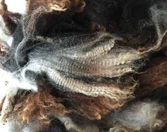 Heathery fiber from Peaches is my new Favorite Fleece