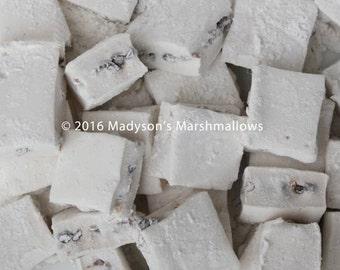 Chocolate Chip Gourmet Marshmallows {bulk order of 80 pieces}