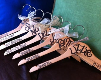 custom painted hangers for TEACHER GIFTS on SALE until December 5th