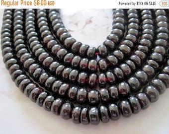 "20% OFF ON SALE 8"" long (54 pcs) Garnet 6mmx4mm Rondelle Beads"