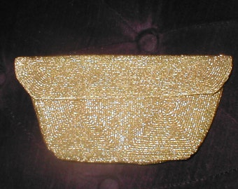 Vintage GOLD Evening Bag ClutchPurse