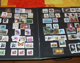 Postage Stamp Collection Storage Book Vintage Book Philatelists