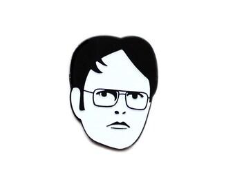 Dwight Schrute enamel lapel pin
