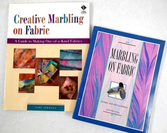 Fabric Marbling Instruction Books