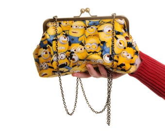 Minions Despicable Me Comic Day Bag and Clutch