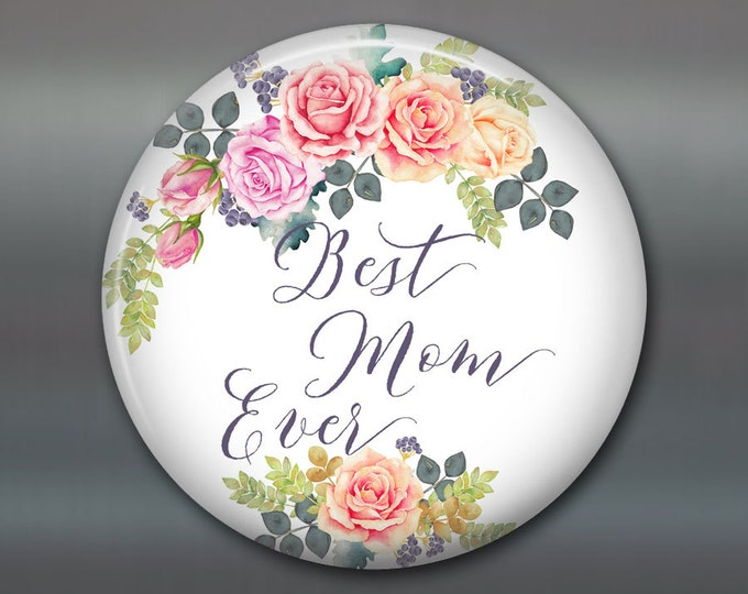 Happy Mother's day card - Mothers day gift for her - kitchen gifts for Grandma - refrigerator magnet for kitchen decor MA-1410