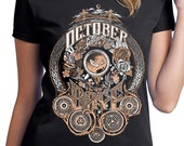 October Daye T-Shirt Pre-Order - Rose Gold Edition