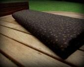 Cinnamon Toast, Autumn Fabric, Half Yard, Stars Fabric, Dark Brown Fabric, Autumn Material, Cotton Fabric, Halloween Fabric, Brown Stars
