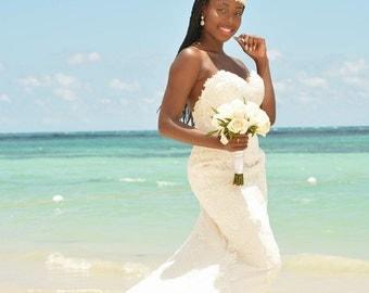 SALE HPH1.R Bridal Headpiece.Wedding Accessories.Bridal Rhinestone Ribbon Headpiece.Bridal Rhinestone and Swarovski Pearls