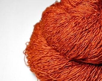 Red-hot metal - Tussah Silk Fingering Yarn