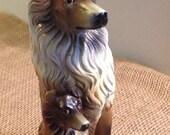 Collie Sheltland Sheepdog Figure Sheltie Dog