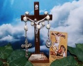 Unbreakable Catholic Chaplet of St. Dismas - Patron Saint of Funeral Directors, Reformed Thieves, Prisoners and Death Row Inmates