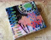 Handmade Art Journal Watercolour Sketchbook - Nostalgic Rain