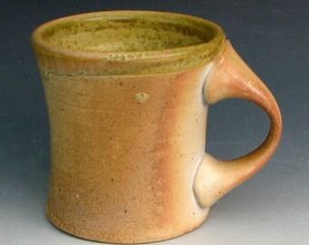 WOOD FIRED MUG #30 - Large Mug - Coffee Mug - Tea Mug - Ceramic Mug - Wood Fired Coffee Mug - Wood Fired Pottery
