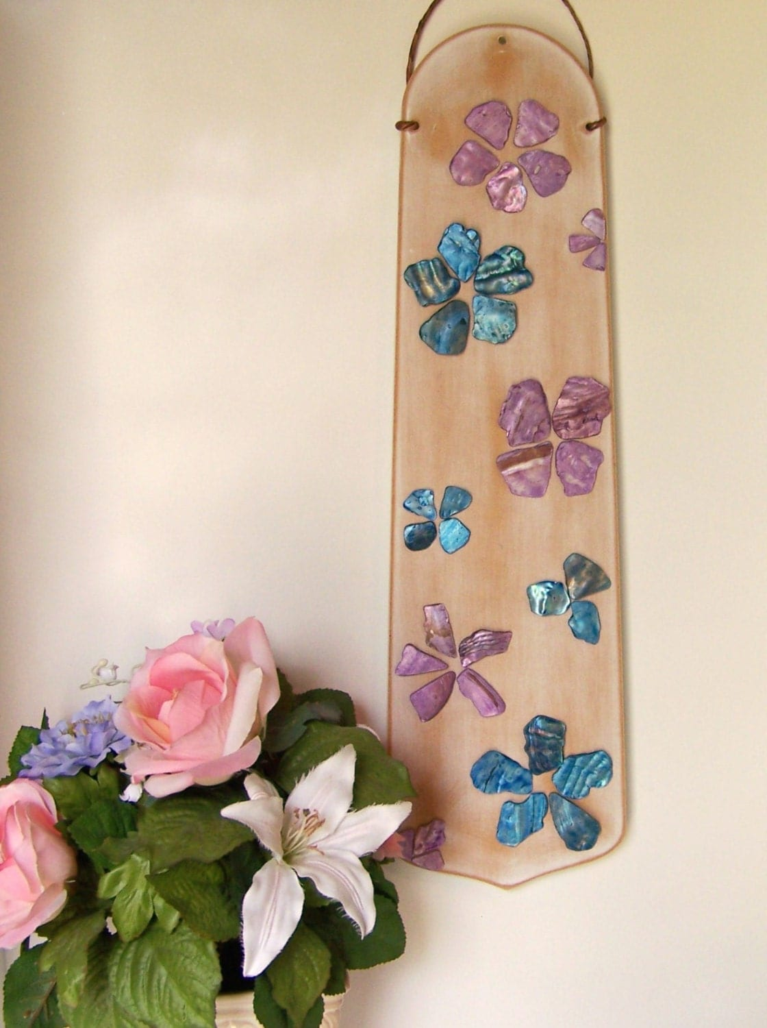 Repurposed ceiling fan blade wall art upcycled wall decor - Ventiladores techo infantiles ...