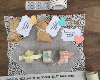 Will You Be My Bridesmaid Invitation Set of Three