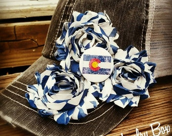 Colorado flag, Colorado hat, Colorado, Colorado trucker hat, Colorado flag hat, personalized hats