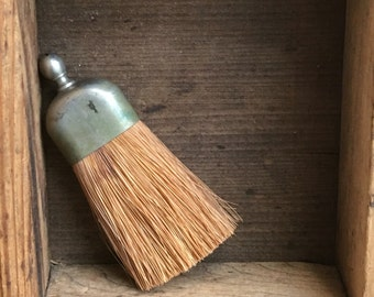 Vintage Tiny Whisk Broom Silver Handle