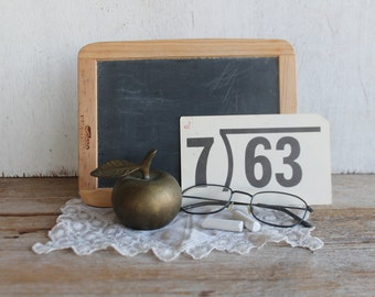 Vintage Brass Apple