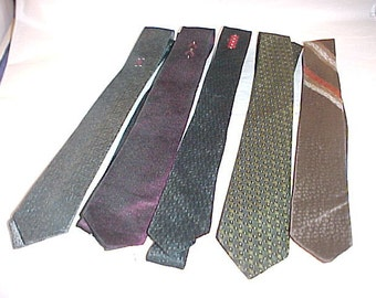 Vintage Men's Tie Necktie Lot